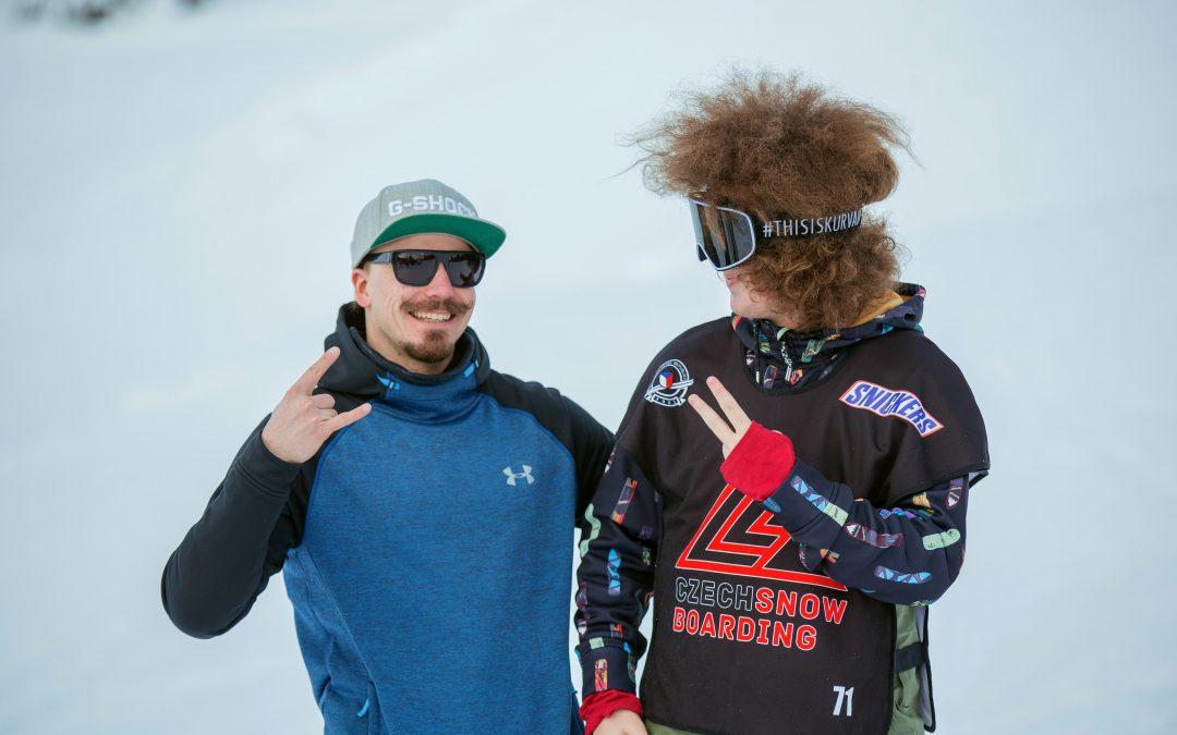 Kontrola mladých snowboardových talentů